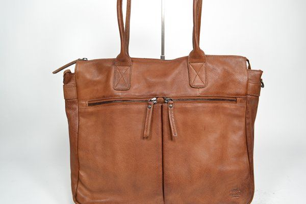 BEAR Tas Cognac tassen (LAPTOPBAG - CP 1657) - West-End