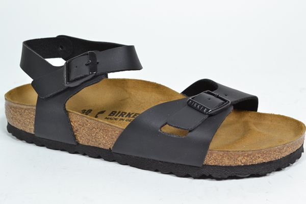 BIRKENSTOCK Sandaal Zwart dames (1.1.9.2.1 - RIO) - West-End