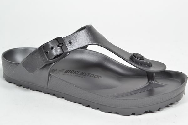 BIRKENSTOCK Muil/Slipper Metaalgrijs/CDF dames (1.31.10.7.1 - GIZEH EVA) - West-End