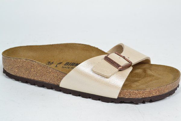 BIRKENSTOCK Muil/Slipper Beige dames (1.6.10.2.1 - MADRID) - West-End