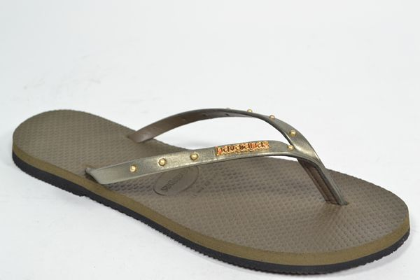 HAVAIANAS Muil/Slipper Kaki dames (1.23.10.7.1 - YOU MAXI) - West-End