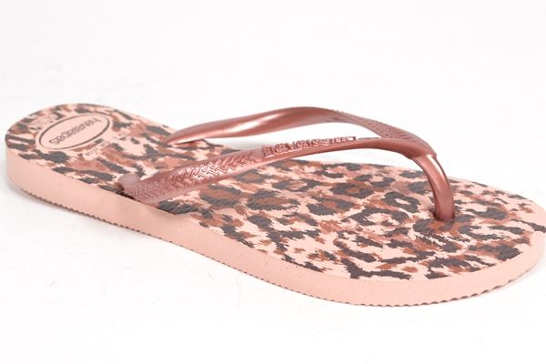 HAVAIANAS Muil/Slipper Multi dames (1.34.10.7.1 - SLIM ANIMALS) - West-End
