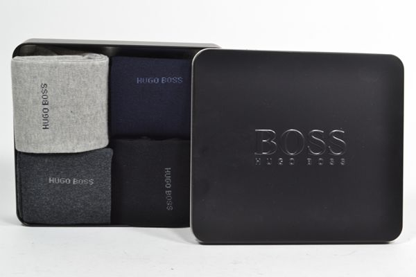 HUGO BOSS Kousen Multi heren (4P GIFT SET ONE SIZE - 50377406 - 962) - West-End