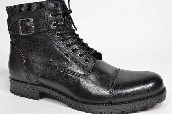JACK & JONES Boots Zwart heren (2.1.6.2.6 - JFWALBANY NOOS) - West-End