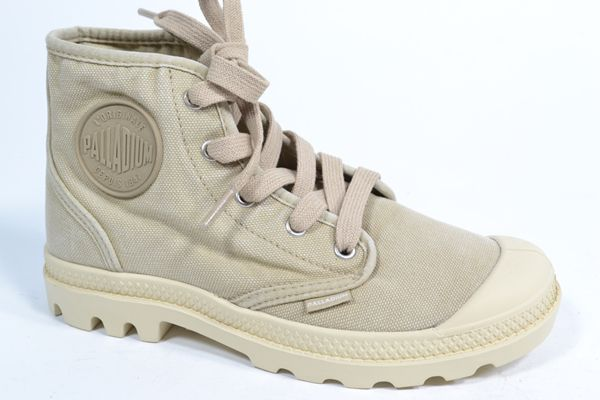 PALLADIUM Nestelboots Beige dames (1.6.5.6.5 - PAMPA HI) - West-End