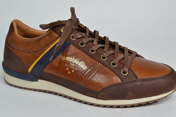PANTOFOLA D'ORO Sneaker Cognac heren (2.3.3.2.8 - MATERA U LOW) - West-End