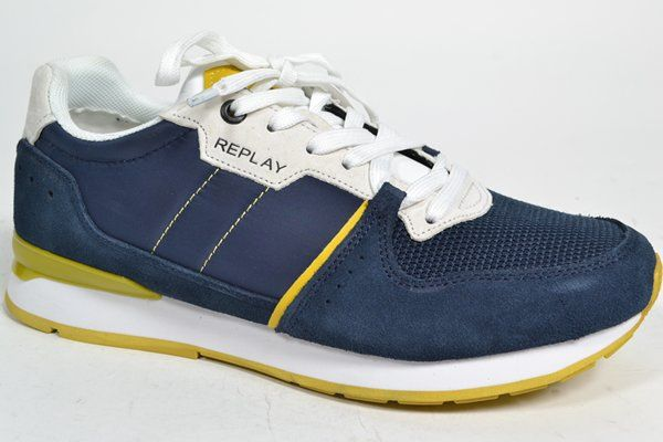REPLAY Sneaker Blauw heren (2.9.3.6.8 - CLASSIC WEST) - West-End