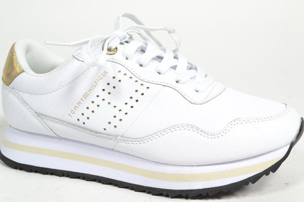 TOMMY HILFIGER Sneaker Wit dames (1.28.3.2.1 - LIFESTYLE RUNNER) - West-End