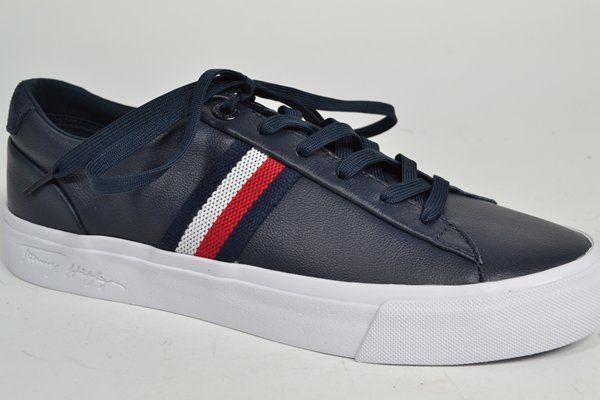 TOMMY HILFIGER Sneaker Blauw heren (2.9.3.2.5 - CORP LTH SNEAKER) - West-End