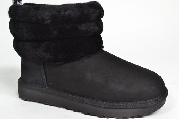 UGG AUSTRALIA Boots Zwart dames (1.1.6.1.1 - FLUFF MINI QUILTE) - West-End